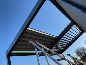 Installation d'un carport Charente